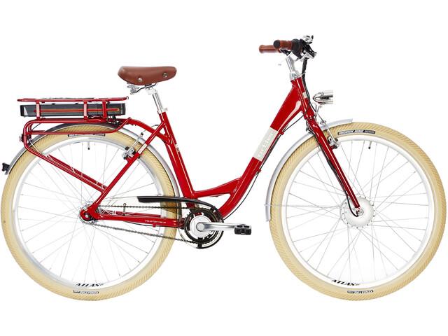 Ortler Charlotte E-citybike Damer rød